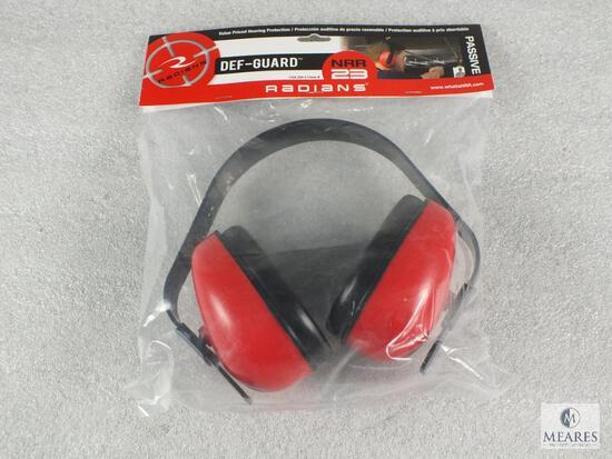 New Radians ear muff hearing protection. Great for shooting or loud sporting events.