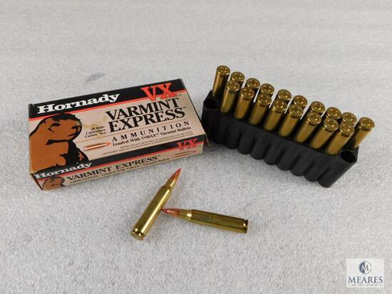 20 Rounds Hornady Varmint Express .223 REM 55 Grain Ammo