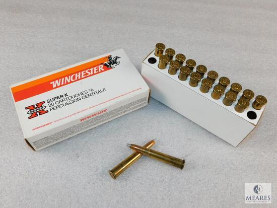 20 Rounds Winchester .303 British 180 Grain Silvertip Super-X Ammo