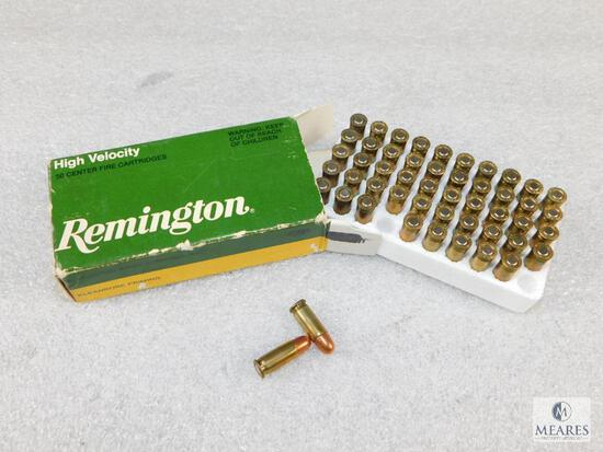50 Rounds Remington .25 Auto 50 Grain Metal Case Ammo