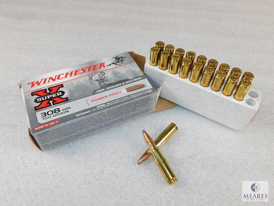 20 Rounds Winchester Super X .308 WIN 150 Grain Power Point Ammo