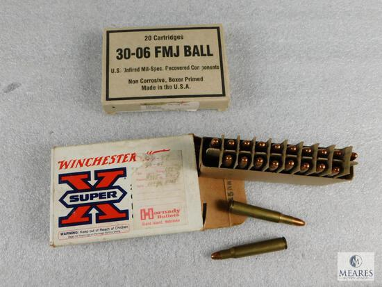 36 Rounds .30-06 Springfield Ammo - possible reloads