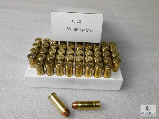 50 Rounds 45 Long Colt 250 Grain HP XTP Ammo