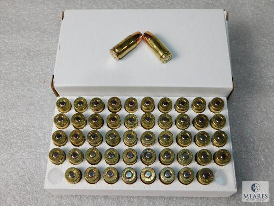 50 Rounds 9 MM 147 Grain HP Ammo
