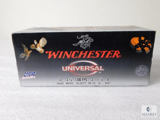 Winchester 100 Rounds 12 Gauge 2-3/4 Inches 1200 FPS 1-1/8 Oz. #8 Shot Ammo