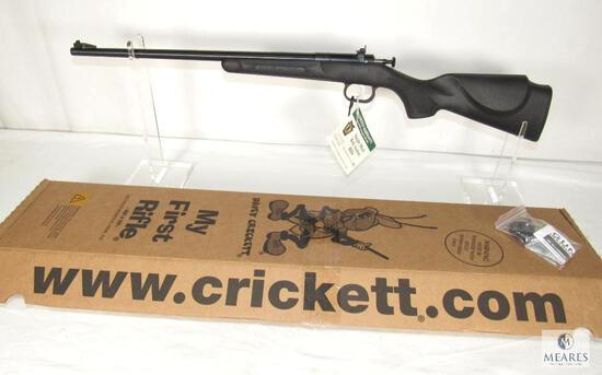 "New in the box! K.S.A. Crickett .22 LR ""My First Rifle"" Single Shot Bolt Action Rifle"