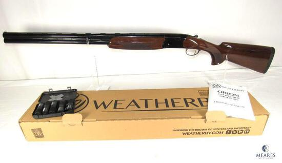 New in the box! Weatherby Orion Sporting 12 Gauge Over / Under Shotgun
