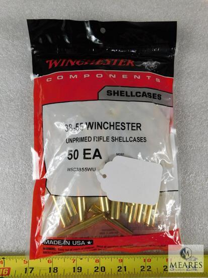 50 Rounds New Winchester 38-55 Brass For Reloading