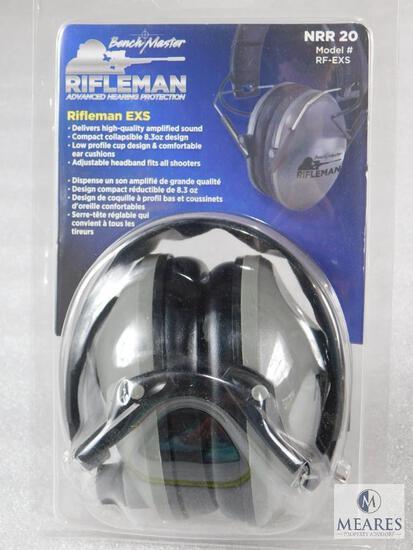 New Rifleman EXS Electronic Folding Earmuff Hearing Protection
