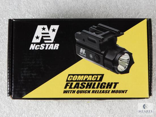 New NcStar Quick Release Tactical Flashlight With Strobe Feature For Pistol Or Rifle