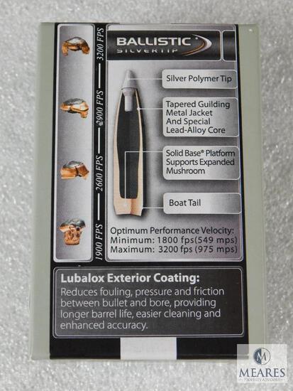 50 Count Nosler Ballistic Silvertip .338 Caliber .338 200 Grain Bullets For Reloading