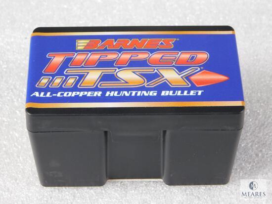 50 Count Barnes .30 Caliber .308 168 Grain TTSX Boat Tail Bullets For Reloading