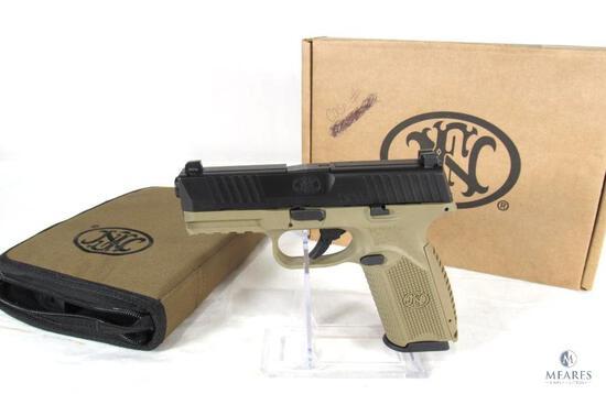 FN 509 9mm Semi-Auto Pistol in FDE