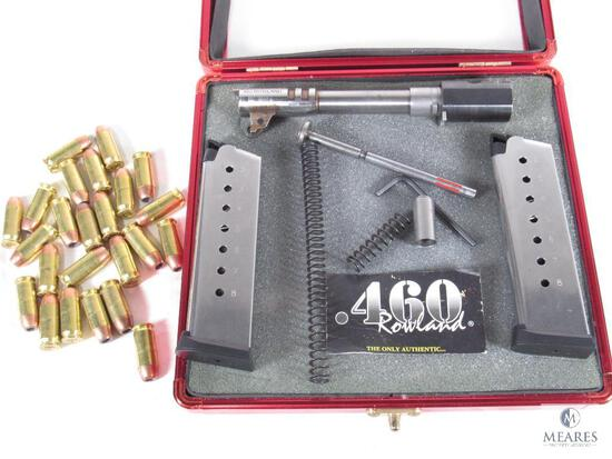 1911 .460 Rowland Compensated Barrel Conversion Kit with 29 Rounds Ammo