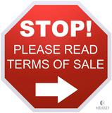 Bidders - PLEASE Read Terms BEFORE Bidding!