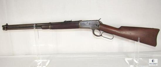1906 Winchester model 1892 .38 WCF Saddle Ring Lever Action Carbine Rifle