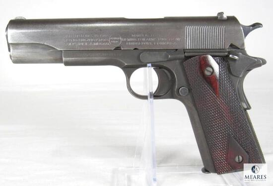 1918 US Army Military Colt Remington UMC 1911 .45 ACP Semi-Auto Pistol United States Property