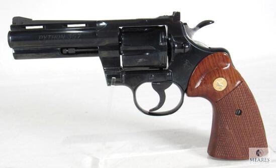 "1971 Colt Python .357 Magnum 4"" Revolver"