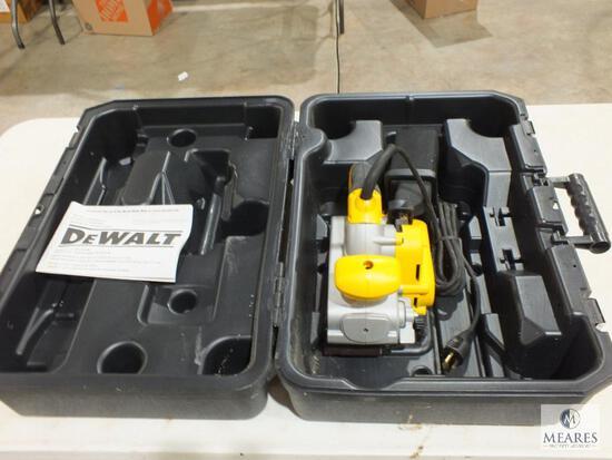 "New Dewalt DW433 3""x21"" Electric Belt Sander with Case"
