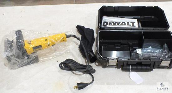 New Dewalt DW682 Electric Jointer with Manual, Case & Dust Bag