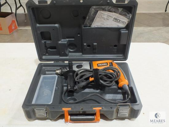 """Ridgid RC7100 1/2"""" Electric Drill Two Speed with Case, Manual & 2 Bits"""
