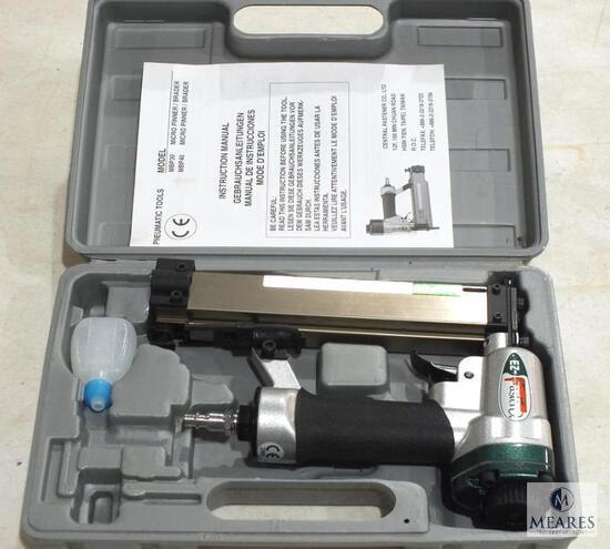 EZ-Fasten Pneumatic 21 Gauge Brad Nailer with Manual and Case