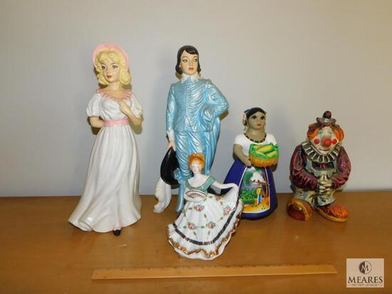 Lot of Ceramic Decorative Figurines