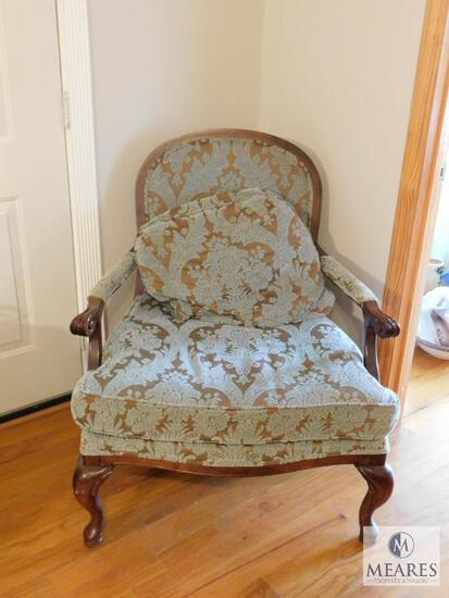 Vintage Bassett Furniture Oversized Occasional Chair