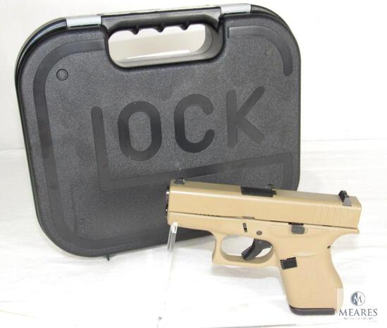 New Glock 42 .380 ACP FDE Semi-Auto Pistol