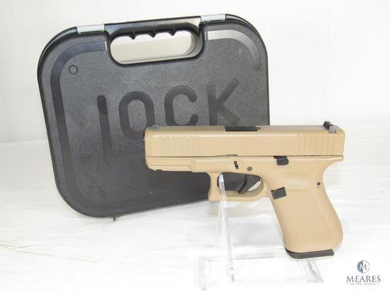 New Glock 19 Gen 5 9mm FDE Semi-Auto Pistol