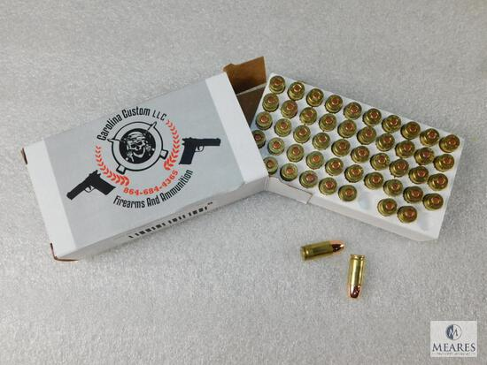 50 Rounds 9mm 147 GR HP