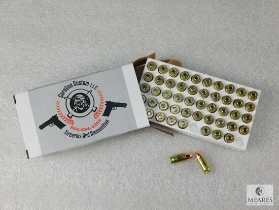 50 Rounds 380 ACP 100 GR FMJ