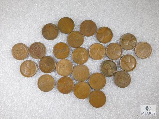 1925-D Lincoln 1/2 Roll (25) Goods - Better Date