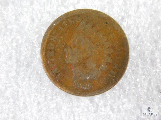 1865 Indian Head Cent - Civil War Era