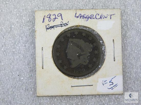 1829 Large Cent - 13 Stars