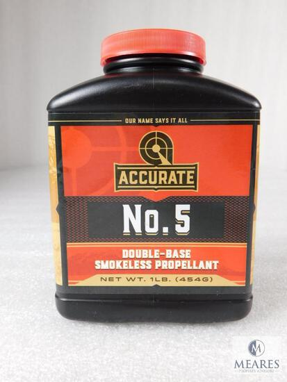 New 1 Pound Accurate #5 Powder For Reloading
