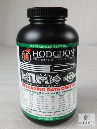New 1 Pound Hodgdon Retumbo Powder For Reloading
