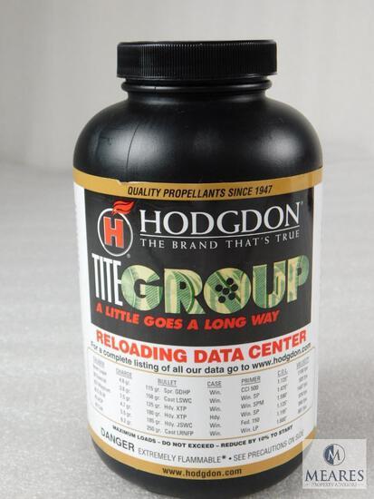 New 1 Pound Hodgdon Titegroup Powder For Reloading