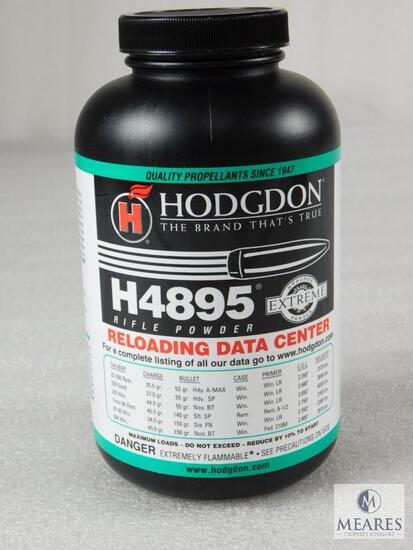 New 1 Pound Hodgdon H4895 Powder For Reloading