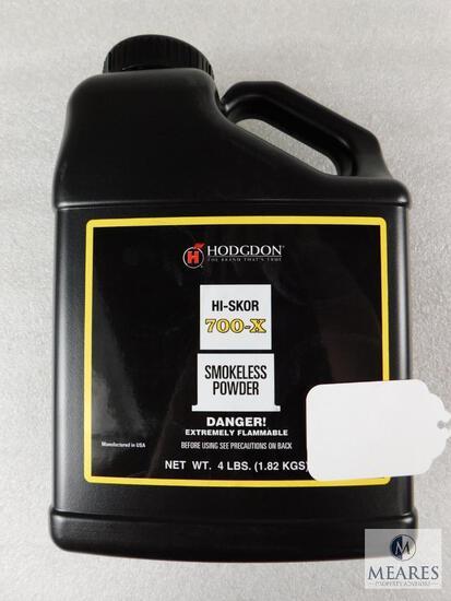 New 4 Pounds Hodgdon 700-X Hi-skor Pistol/Shotgun Powder For Reloading