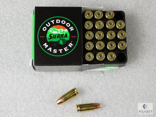 20 Rounds Sierra 9mm Hollow Point Self Defense Ammo. 124 Grain