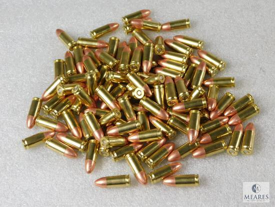 100 Rounds New Factory CCI Blazer 9mm Ammo. 115 Grain FMJ