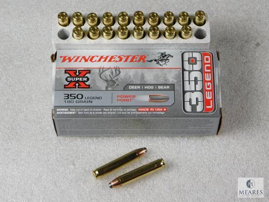 20 Rounds Winchester 350 Legend Ammo 180 Grain
