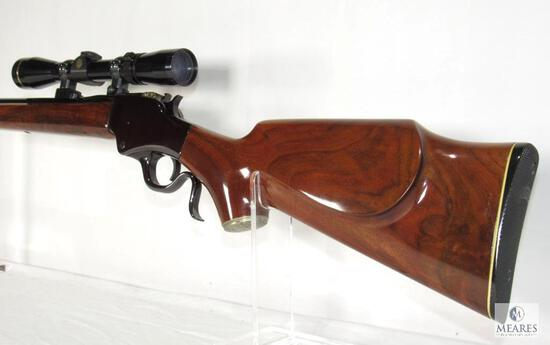 RARE Wickliffe 76 .22-250 Savage Falling Block Rifle w/ Leupold Vari-X III Scope