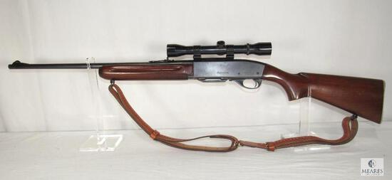 Remington Woodsmaster 740 .30-06 SPRG Semi-Auto Rifle with Bushnell Scope