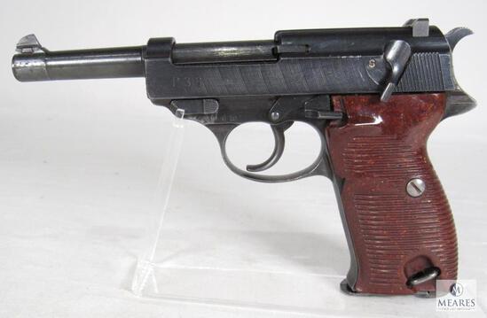 Walther Spreewerk GmbH German P38 9mm Military WWII Era Semi-Auto Pistol