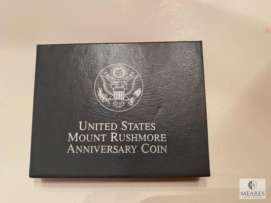 US Mint 1991 Mount Rushmore Commemorative Half Dollar Proof Coin