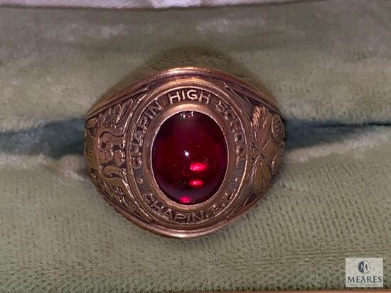 1955 Chapin High School Ring