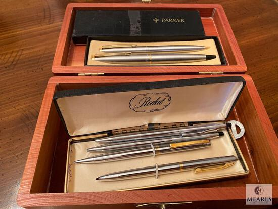 Gentleman's Lot of Pens, Cufflinks, Wallets, Watches, and More