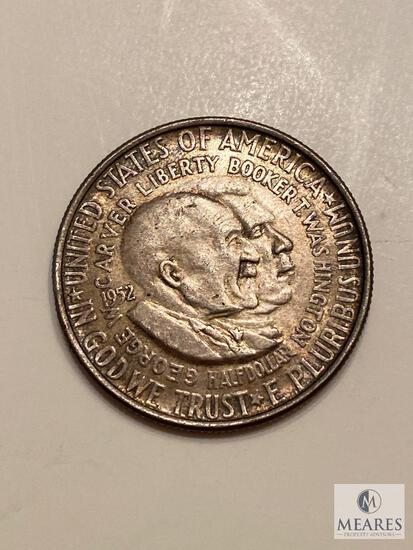 1952 Washington-Carver Commemorative Half Dollar